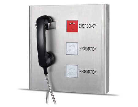 Emergency IP telephone